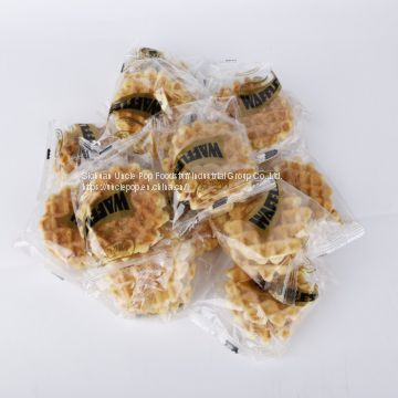 Chinese cracker snack,150g sweet waffle cookie,seasame biscuit