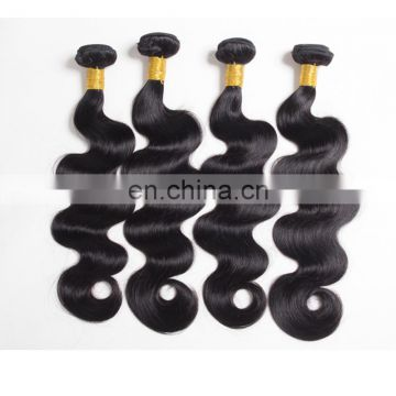 Wholesale unprocessed hair extension body wave human hair virgin brazilian hair
