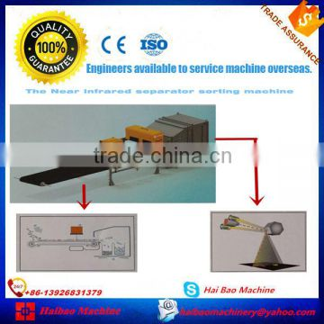 The waste paper near infrared separator sorting machine of