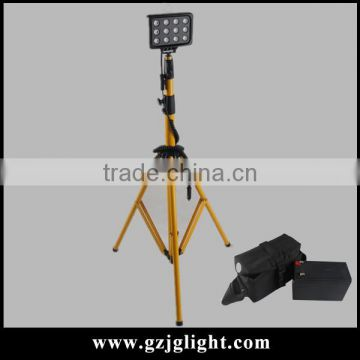 High Quality Photographic Equipment 12v tripod work light with 4m cigar plug