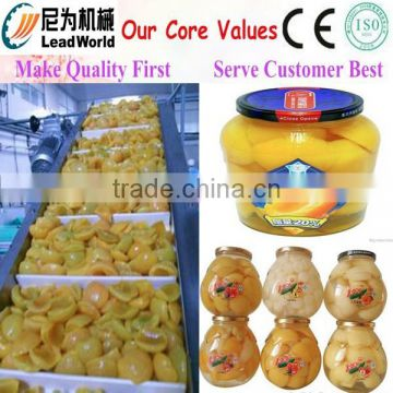 professional apple fruit canning machine/sugar water canned production line