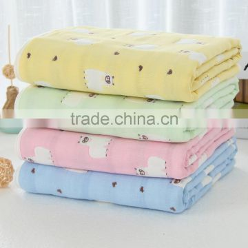 RuiChun texteil new design soft baby swaddle blanket of blanket from