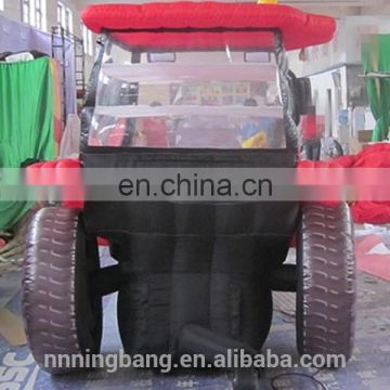inflatable tractor car for advertising
