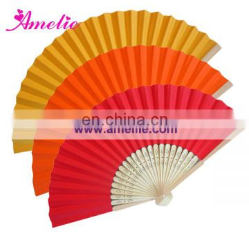 AF1411 Red Chinese style paper hand fans