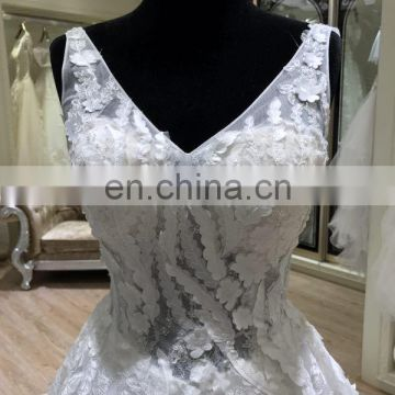 2017 high quality hongkong wedding gown dress online sale