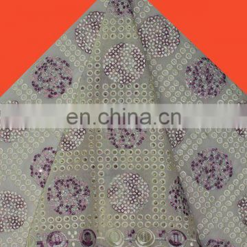 Free shipping swiss cotton lace