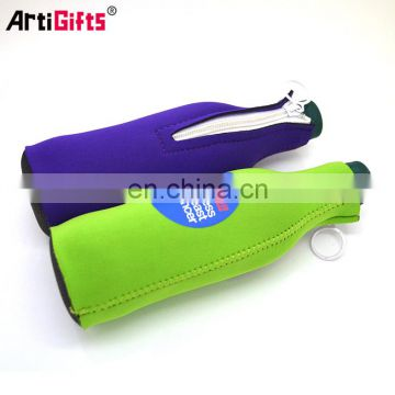 Wholesale wine bottle cooler sleeve