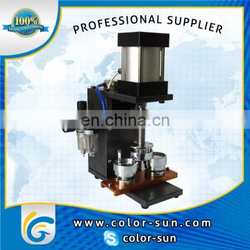 Automatic Badge making machine, prendedor making machine , brooch making machine