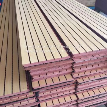 15mm grooven fabric wooden acousitcal panel