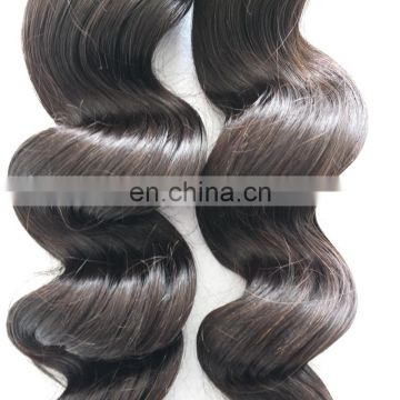 Cheap virgin loose wave human hair