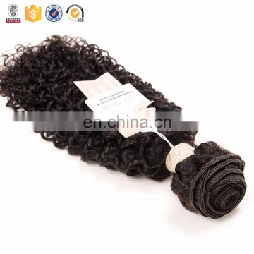 100% human hair weft bohemian curly wave unprocessed hair extension can be dyed and bleached