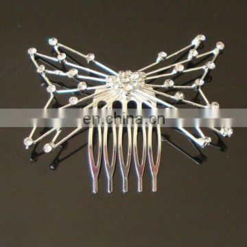 fashion rhinestone bridal hair comb
