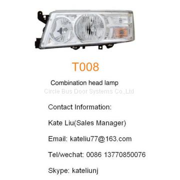 Toyota coaster combination head lamp(T008)
