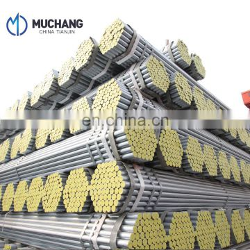 astm a106 gr a b c erw carbon structure galvanized steel pipe