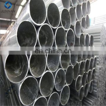 Best selling Pre Galvanized Welded Steel Round Pipe ERW round pipe