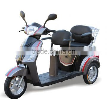Eec Hot Selling Popular 2 Seat 3 Wheel Mobility Tricycle Electric
