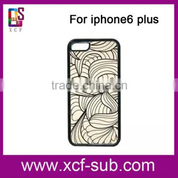 New 2D 3D Blank Heat Transfer Sublimation Printing Phone Cases For iPhone, For iphone 4 5 5c 6 6plus Case Sublimation Custom