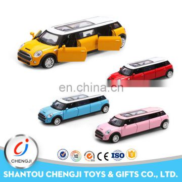 Promtional gift limousine die cast metal miniature toy cars