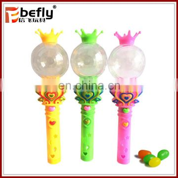 China manufacturer plastic light up candy toy