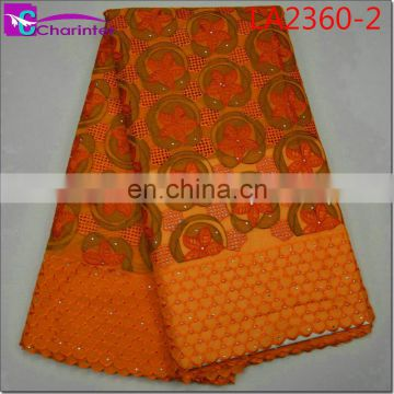 high quality african lace fabrics LA2360