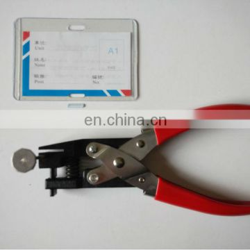 pvc material square hole punch tool