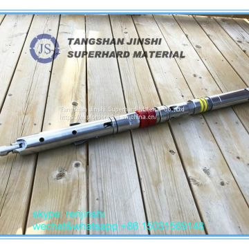 AQ/BQ/NQ/HQ/PQ core barrel drill pipe/drill rod 1.5m 3m long