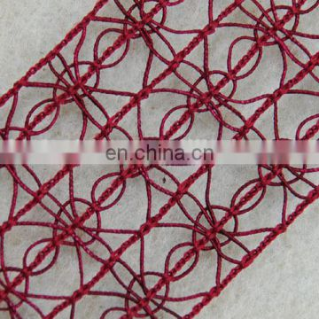 Top hot style custom braided trim for garments