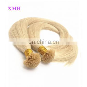 Wholesale High Quality V Tip Keratin Human Hair Extension