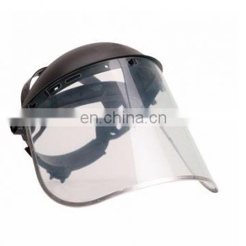 FRP steel worker safety helmet with amice