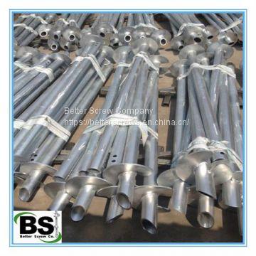 Basement Repairs Helical Anchors 4-1/2 inch Round Shaft