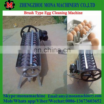 Good performance and professional Brush Type Egg Cleaning Machine|Small Model Egg Washing Machine with low price