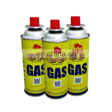 butane gas cartridge and camping butane gas cartridge 220g