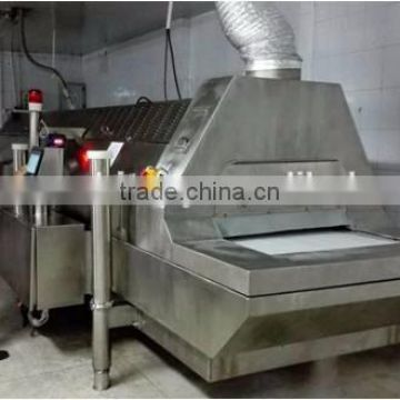 CE Certification Stainless Steel Seafood IQF Tunnel Freezer