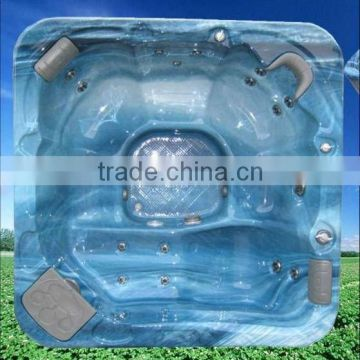 Outdoor whirlpool spa A200 with one neck collar