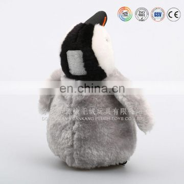 30cm grey penguin soft plush toy
