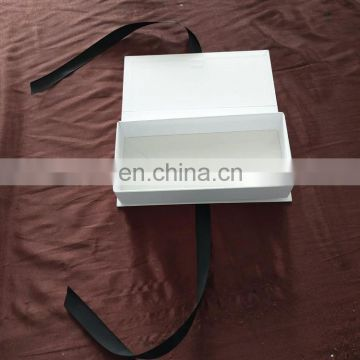 White cardboard packaging luxury packaging boxes