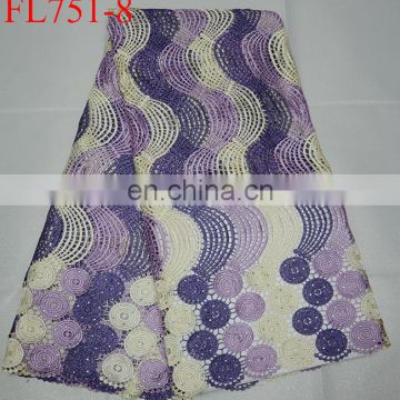 free shipping Factory Wholesale Bridal Lace African Guipure Cord Lace Fabrics Nigerian Lace for wedding