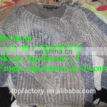 Top quality Fashion used wool clothing