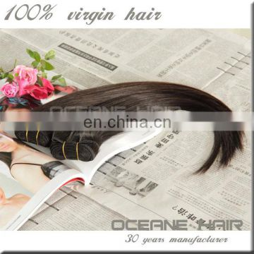 New arrival full cuticle cheap unprocessed peruvian straight hair