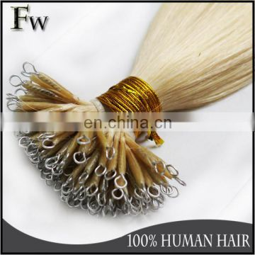 6A Grade high quality nano ring hair extensions,best selling nano ring hair