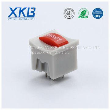 Color customization 15.2*15.2 plug-in illuminated button switch