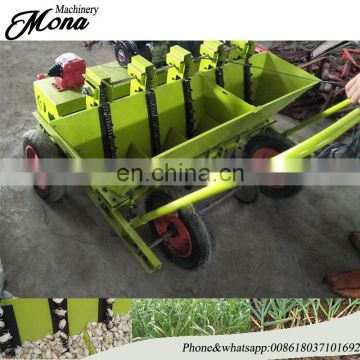 Mini farm machinery garlic seeder machinery