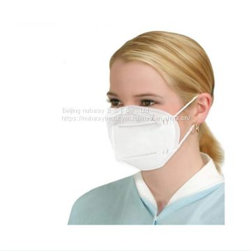 Meltblown Nonwoven Niosh kn95 mask face disposable respirator