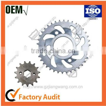 Factory Price CG125 Motorcycle Chain Sprocket Kits