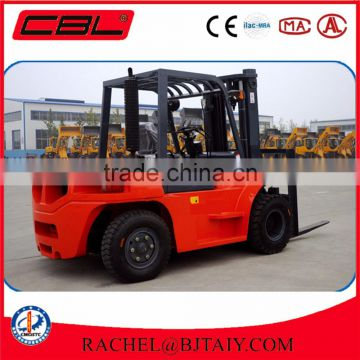 China automatic transmission 7ton diesel engine forklift truck