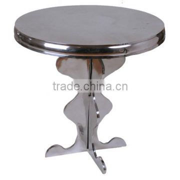 metal table for dinner