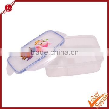 Big airtight/decorative plastic food container