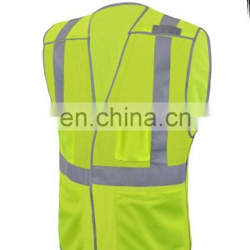 reflective safety clothing safety workwear 98% polyester FR treated 2% carbon