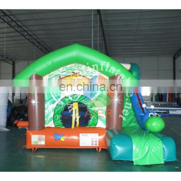 Most popular kids play castle house forest inflatable bouncy castle insect bouncer for sale