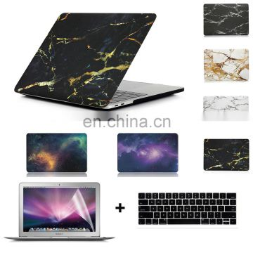 "Marble Pattern Hard PC Full Body Protective Cover Case for Macbook Pro 13"" A1706&A1708 with/without Touch Bar Released Oct 2016"